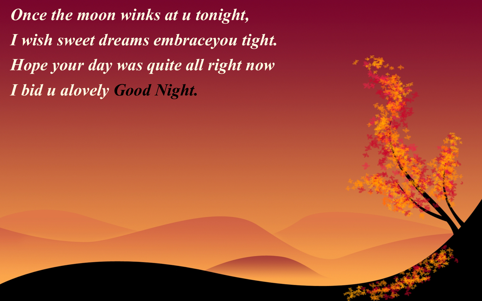 Good Night Wallpapers Qutoes And Sayings The Best Collection Of Quotes