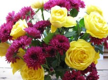 good night images with flowers messages
