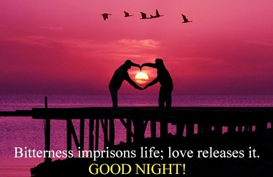 Sms good night love messages wishes and quotes