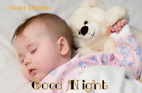 Cute good night SMS