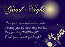 Good night love messages for boyfriend or husband